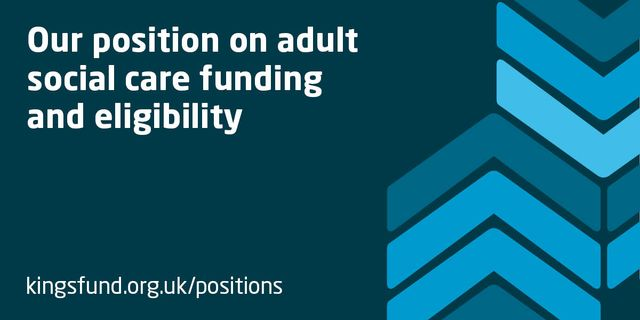 Funding the social care system featured image