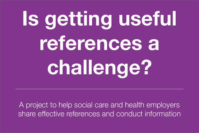 References for social care staff - time for a new approach? featured image