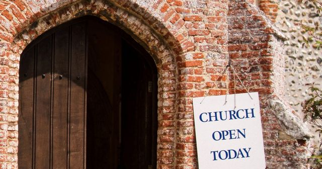 Opening up churches, freedom to.........? featured image