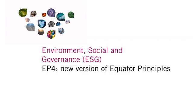 EP4: new version of Equator Principles featured image