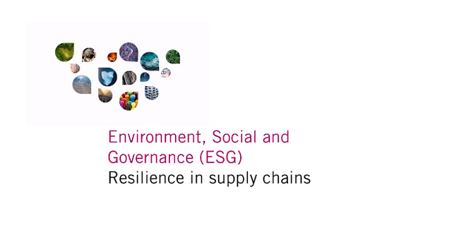 Resilience in supply chains - key ESG takeaways   Linklaters featured image