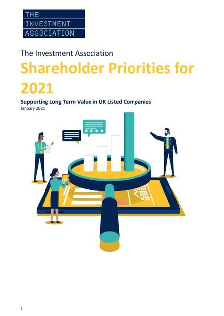 Investment Association publishes guidance relevant to FY20 Annual Reports and FY21 AGMs for listed companies featured image