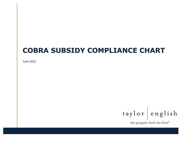 Overwhelmed by Compliance with the 100% COBRA Subsidy? featured image