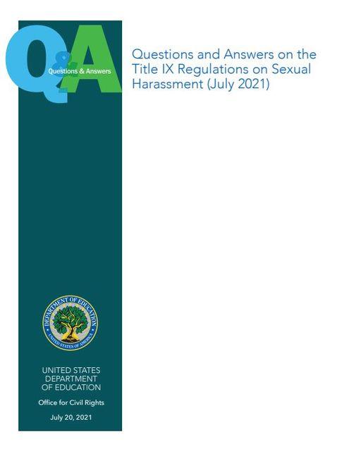 Title IX Q&A featured image