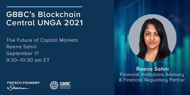 The Future of Capital Markets at GBBC Blockchain Central UNGA featured image
