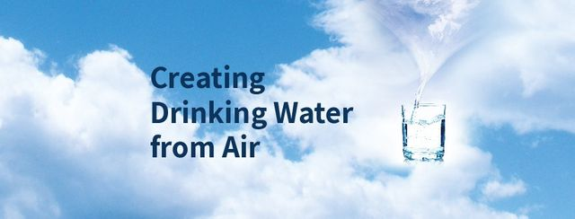 Producing drinking water from air! featured image