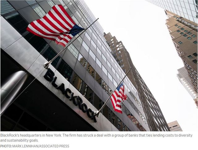 BlackRock Must Hit ESG Targets or Pay More to Borrow Money featured image