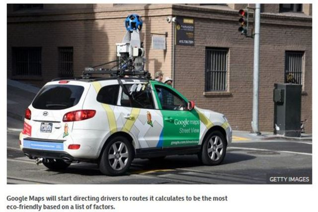 Google Maps in USA to start showing eco-friendly routes featured image