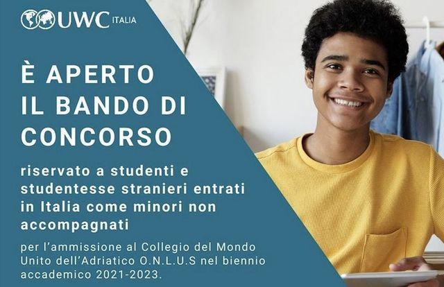 UWC SELECTIONS IN ITALY FOR UNACCOMPANIED MINORS - Selezioni UWC per minori non accompagnati in Italia featured image