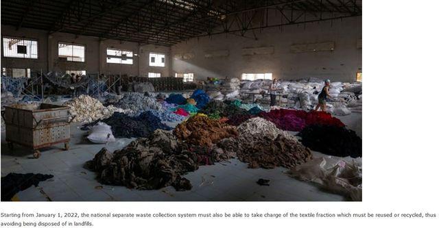 Economia circolare: meno di un anno per disegnare il sistema di gestione degli scarti tessili featured image