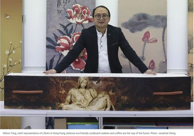 Cardboard coffin maker eyes green funerals' potential in East Asia, but meets resistance in its home market, Hong Kong featured image