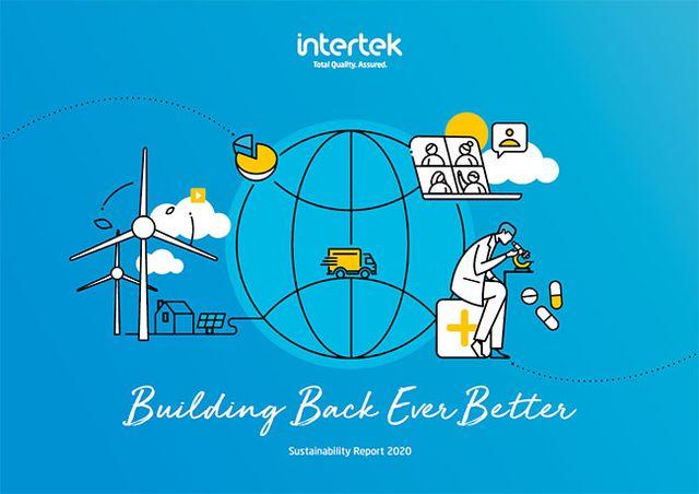 INTERTEK SUSTAINABILITY REPORT 2020 WINS GOLD AWARD featured image