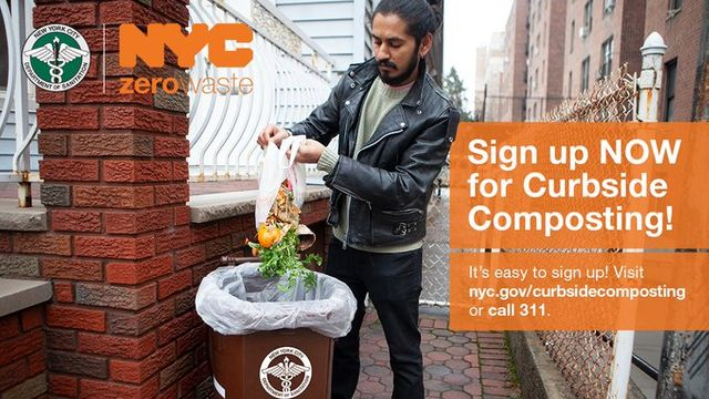 Hey NYC - Get Ready for Curbside Composting featured image