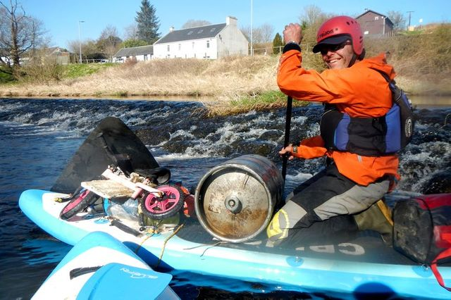 Meet the eco-friendly couple repurposing garbage found in Scotland's rivers featured image