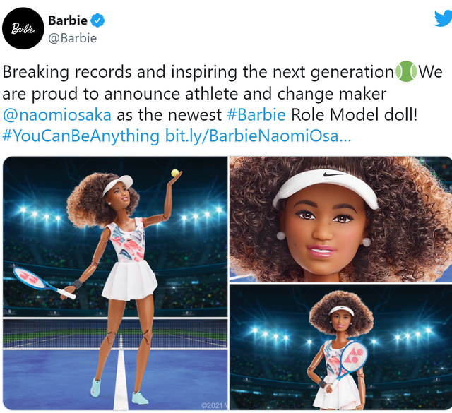 Mattel makes its toys more diverse, launches new Naomi Osaka Barbie dolls featured image