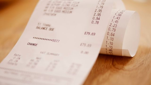 Shops to stop printing paper receipts in retail's 'plastic straw moment' featured image