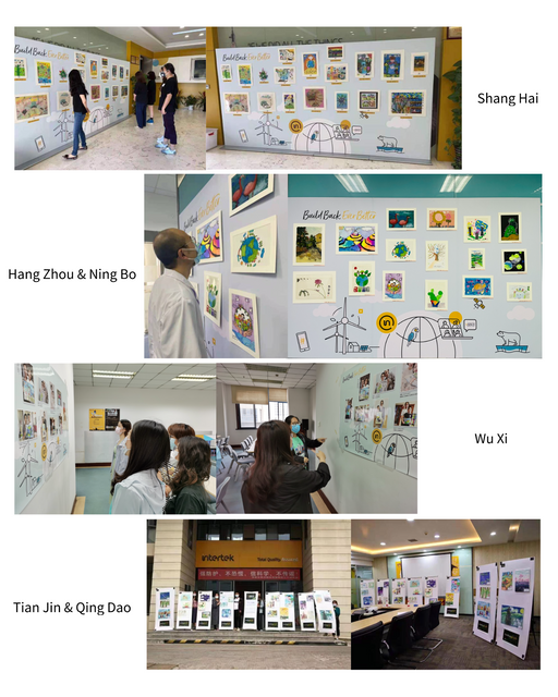 A children's painting show was held in six cites of  North East China featured image