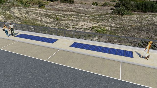Malta's first solar pavement featured image