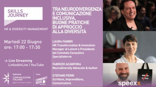 Tra Neurodivergenza e Comunicazione Inclusiva, buone Pratiche di approccio alla diversità featured image