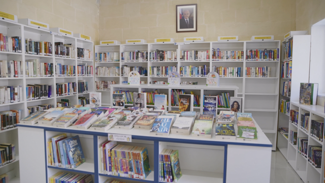 Prison inmates help transform a disused warehouse into a public library featured image