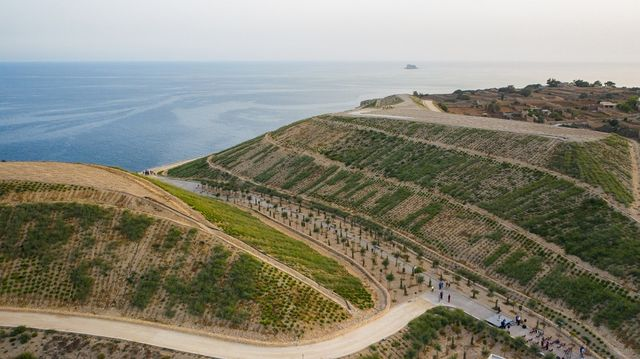 Abandoned landfill transformed into recreational space; 43,000 trees planted featured image
