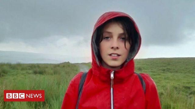 Climate change: Boy, 11, starts 200-mile walk featured image