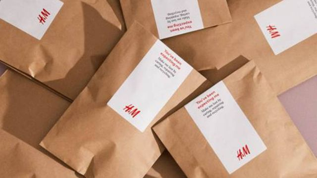 H&M begin using paper packaging for online orders featured image