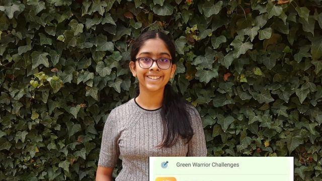 Une fille de 11 ans de Mumbai crée une application pour « encourager » les gens à agir contre le changement climatique featured image