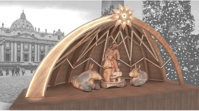 """A Sutrio la """"Magia del Legno"""" in edizione speciale dedicata al presepe che sarà esposto in Vaticano featured image"""