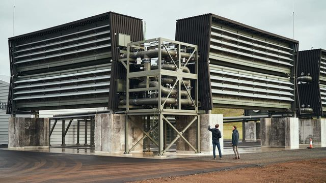 The World's First Commercial Carbon Removal Factory. featured image