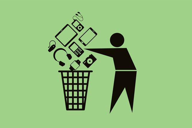 ¿Dónde acaban los residuos electrónicos? featured image