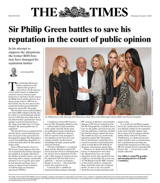 Byfield MD Gus Sellitto writes for The Times featured image