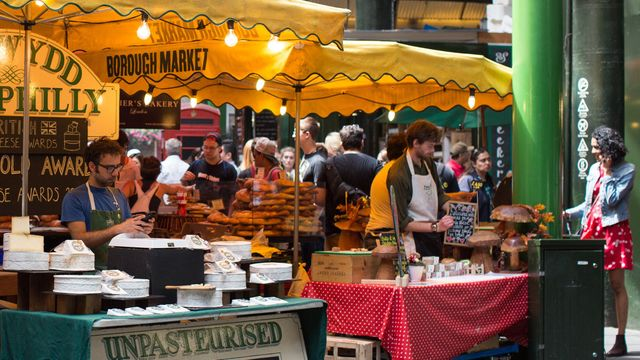 The full flavour of Borough Market featured image