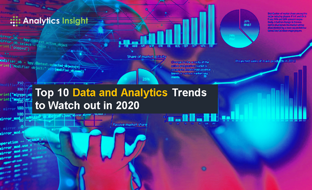 TOP 10 DATA AND ANALYTICS TRENDS TO WATCH OUT IN 2020 featured image