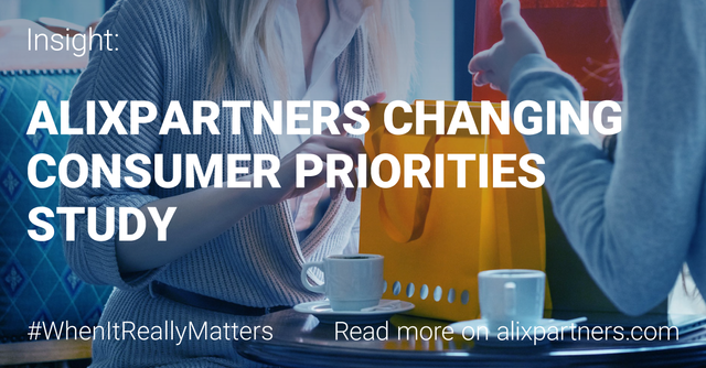 AlixPartners Changing Consumer Priorities Study featured image