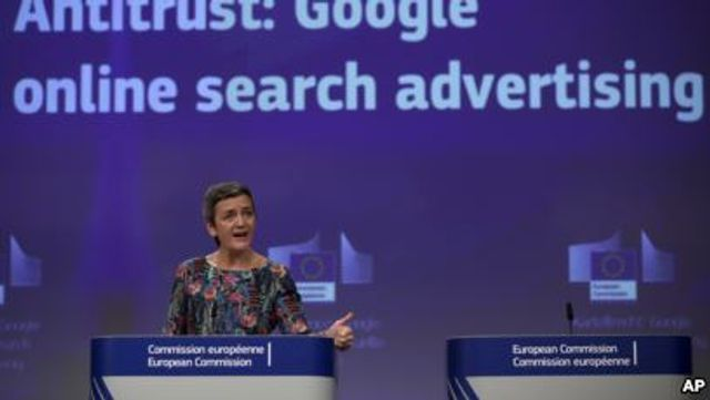 Google close to $10bn in European Commission fines in under two years featured image