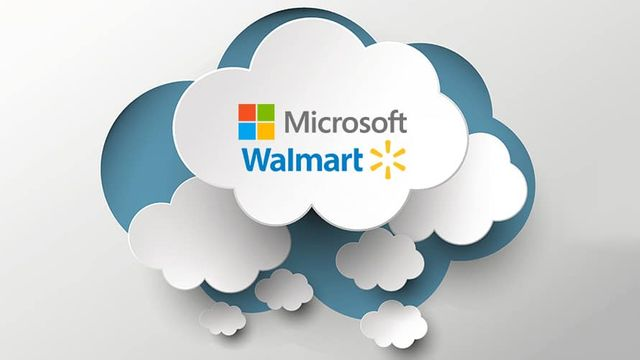 Microsoft and Walmart Sitting In a Tree featured image