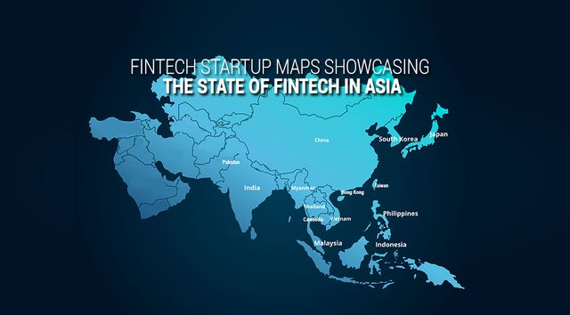 15 Fintech Maps Showcasing the State of Fintech in Asia featured image
