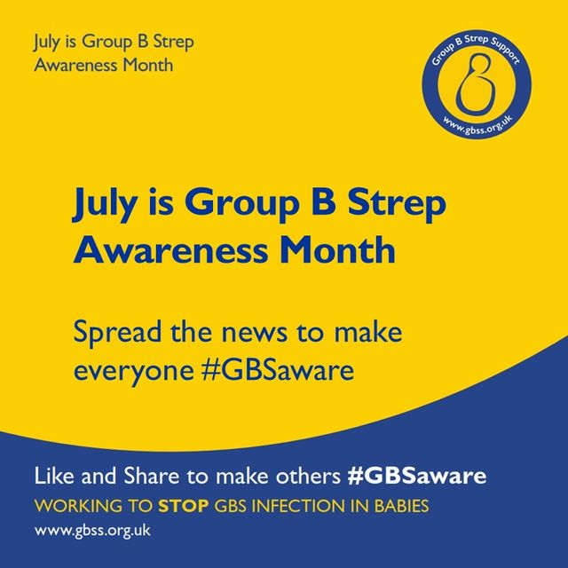 July 2017 is Group B Strep Awareness Month - #GBSaware featured image