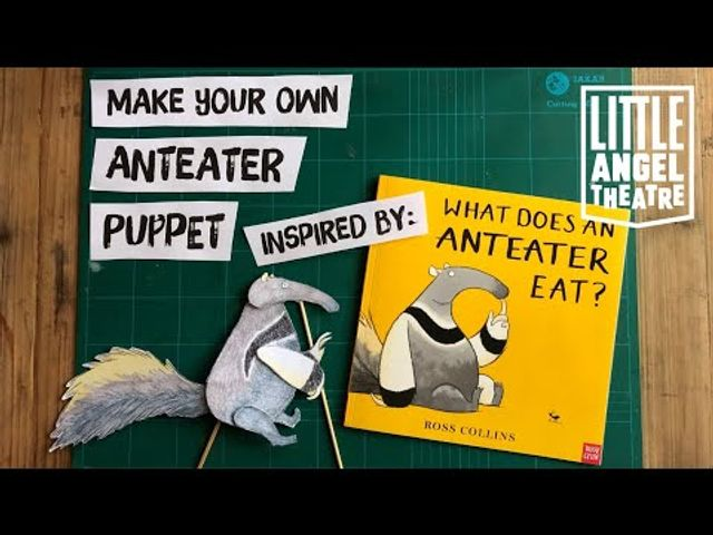 Read the book. Watch the play. Make your own puppet ... with Little Angel Theatre featured image