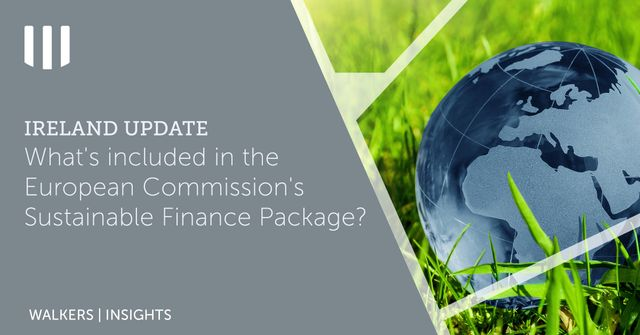 What's included in the European Commission's Sustainable Finance Package? featured image