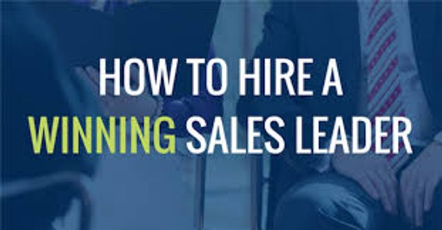 12 key factors you should consider when recruiting a Sales Director featured image
