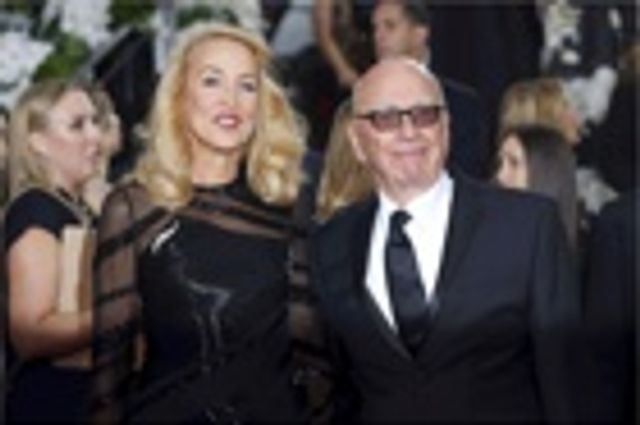 Rupert Murdoch and Jerry Hall announce their engagement featured image