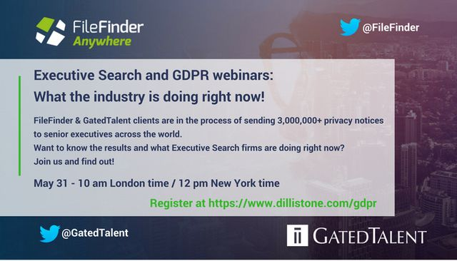 Executive Search & GDPR – What the industry is doing right now! featured image