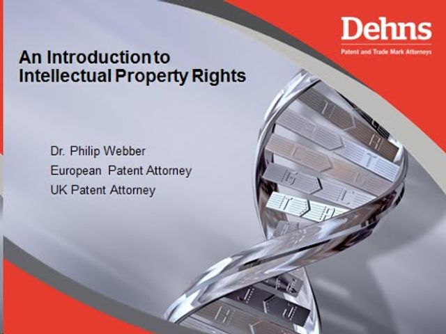Webinar: An introduction to IP - The basics of the patent system featured image