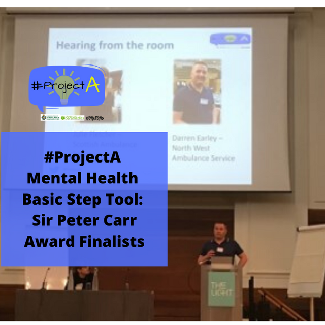 #ProjectA Mental Health Basic Step Tool: Sir Peter Carr Award Finalists featured image