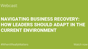 WEBCAST: Navigating Business Recovery