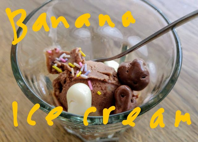 Make 'magic' banana ice cream🍌: it's easy and delicious featured image