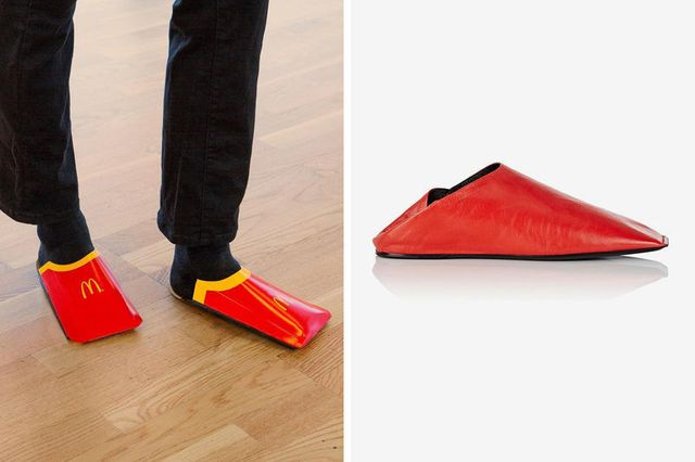 McDonald's is Taking a stab at Balenciaga's slip on shoes featured image