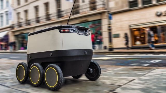 It's life, but not as we know it - Starship Technologies' robotic couriers land in Southwark featured image